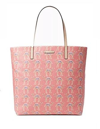 Kate Spade New York Bon Shopper Spice Things Up Camel Tote