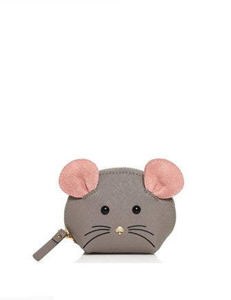 Kate Spade New York Cat's Meow Mouse Coin Purse