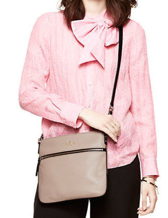 Kate Spade New York Cobble Hill Ellen Leather Zip Crossbody