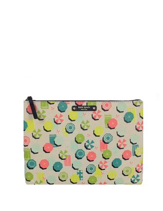 Kate Spade New York Sand Hill Circle Gia Large Zip Pouch