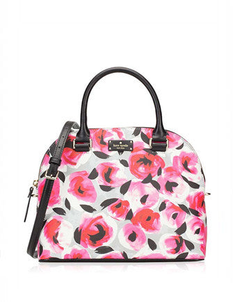 Kate Spade New York Grove Street Printed Floral Carli Satchel