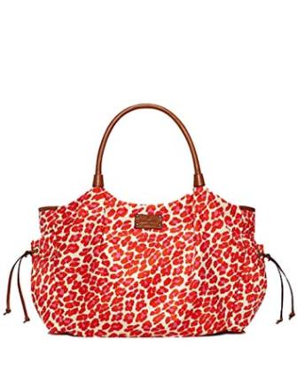 Kate Spade New York Into the Wild Leopard Stevie Baby Bag