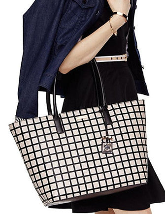 Kate Spade New York Brightwater Drive Jules Plaid Tote