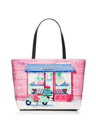 Kate Spade New York Magnolia Bakery Francis Manhattan Cake Shop Tote