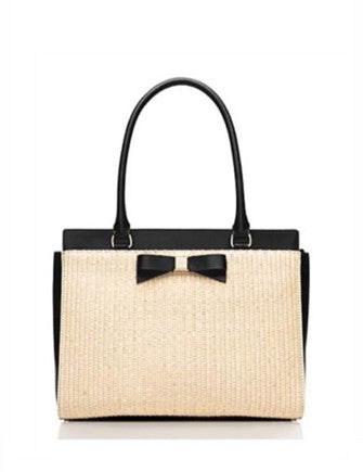 Kate Spade New York Montford Park Straw Jovie Shoulder Bag