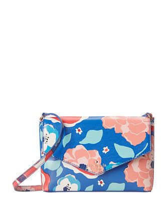 Kate Spade New York Cedar Street Multi Floral Large Monday Crossbody
