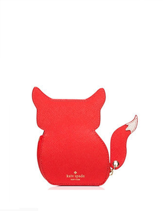 Kate Spade New York Blaze A Trail Fox Coin Purse