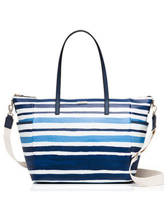 Kate Spade New York Grant Street Stripe Adaira Baby Bag