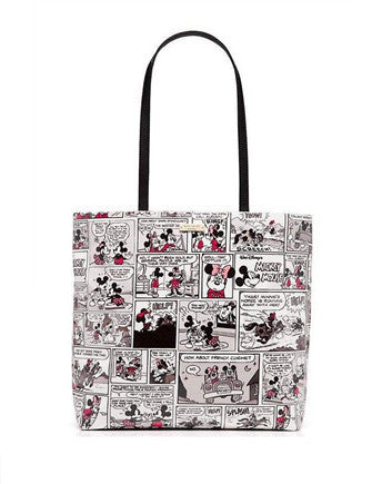 Kate Spade New York Minnie Mouse Comic Tote