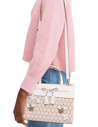 Kate Spade New York Hayes Bee Embellished Small Satchel