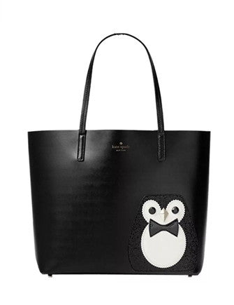 Kate Spade New York Clifton Lane Little Len Penguin Tote