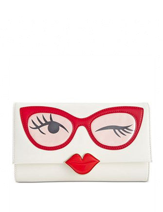 Kate Spade New York Rose Colored Glasses Frames Clutch