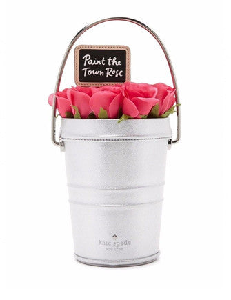 Kate Spade New York Rose Colored Glasses Rose Bucket Handbag