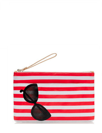 Kate Spade New York Pink Splash Out Bikini Pouch