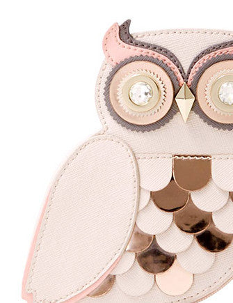 Kate Spade New York Blaze A Trail Owl Coin Purse
