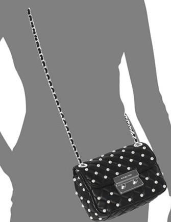 Michael Michael Kors Pearls Sloan Small Chain Shoulder Bag