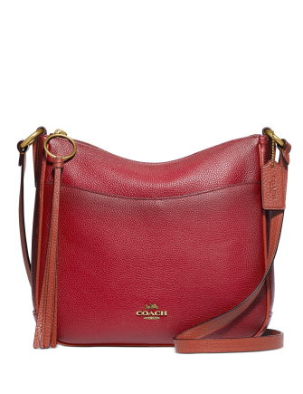 Coach Leather Chaise Crossbody