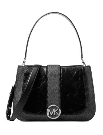 Michael Michael Kors Lillie Signature Polished Top-Handle Satchel