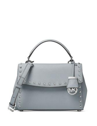 Michael Michael Kors Ava Small Studded Top Handle Satchel