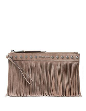 Michael Michael Kors Billy Extra Large Zip Clutch