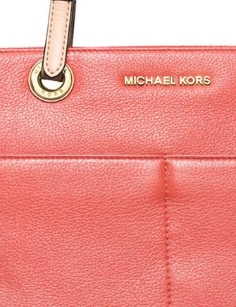 Michael Michael Kors Bedford Item Jet Set Zip Pocket Tote