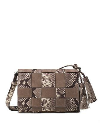 Michael Michael Kors Vivian Woven Medium Messenger