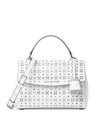 Michael Michael Kors Ava Small Perforated Top Handle Satchel