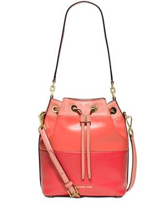 Michael Michael Kors Dottie Large Colorblock Bucket Bag