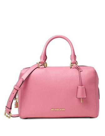 Michael Michael Kors Kirby Medium Leather Satchel