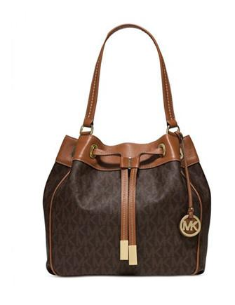 Michael Michael Kors Marina Signature Large Bucket Bag