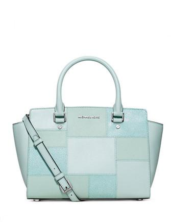 Michael Michael Kors Quilt Selma Medium Top Zip Satchel