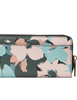 Kate Spade New York Margaux Brush Bloom Slim Continental Wallet