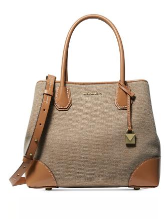 Michael Michael Kors Mercer Gallery Canvas Center Zip Tote