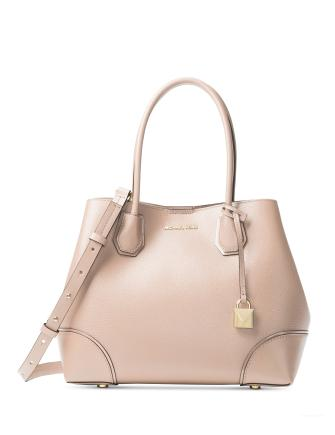 Michael Michael Kors Mercer Pebble Leather Gallery Satchel