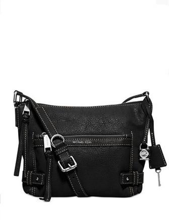 Michael Michael Kors Abby Medium Leather Messenger