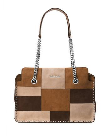 Michael Michael Kors Patchwork Astor Large Satchel