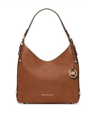 Michael Michael Kors Bedford Large Belted Leather Shoulder Bag