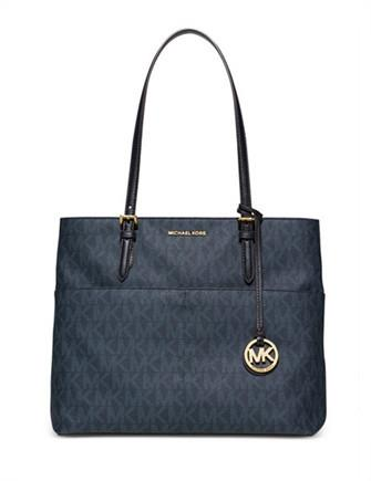 Michael Michael Kors Bedford Large Signature Pocket Tote