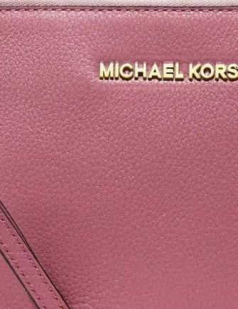 Michael Michael Kors Bedford Large Leather Zip Top Clutch