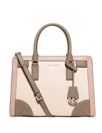Michael Michael Kors Corner Frame Dillon Top Zip East West Satchel