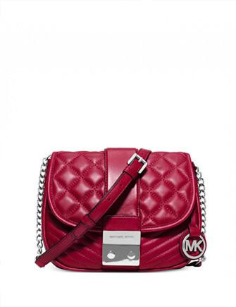 Michael Michael Kors Elisa Medium Quilted Messenger Bag
