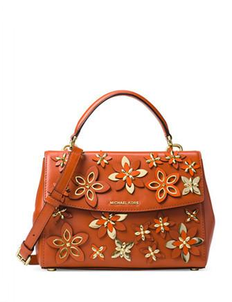 Michael Michael Kors Flowers Ava Small Top Handle Satchel