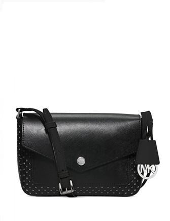 Michael Michael Kors Greenwich Small Perforated Flap Crossbody