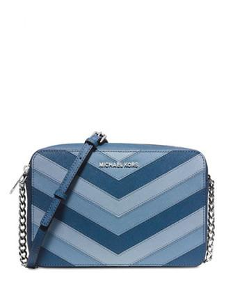 Michael Michael Kors Jet Set Chevron Large East West Crossbody