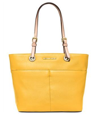 Michael Michael Kors Bedford Leather Zip Pocket Tote
