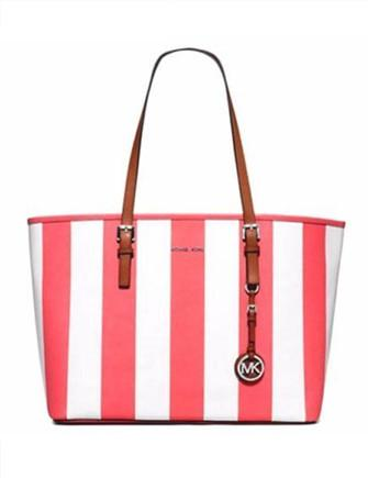 Michael Michael Kors Jet Set Travel Stripe Medium Travel Tote