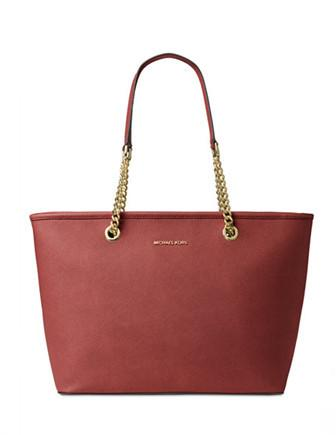 Michael Michael Kors Jet Set Travel Chain Top Zip Multi Function Tote