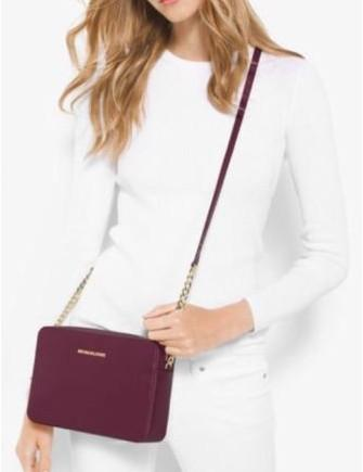 23a721fbdd7a5b Michael Michael Kors Jet Set Travel Large Crossbody | Brixton Baker
