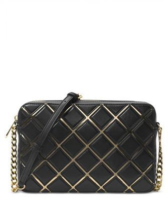 Michael Michael Kors Jet Set Travel Large Grid East West Crossbody