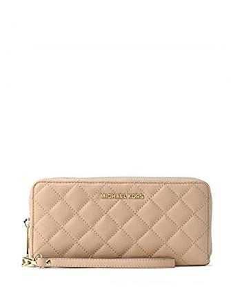 Michael Michael Kors Jet Set Travel Quilted Leather Continental Wallet